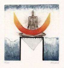 Liesa Althaus, Meditation, Original, Radierung