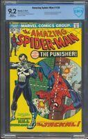 AMAZING SPIDERMAN ISSUE # 129 FEB 1974   CBCS 9.2 NM-  1ST APP PUNISHER & JACKAL