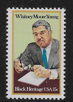 US Scott #1875, Single 1981 Whitney Moore Young 15c FVF MNH