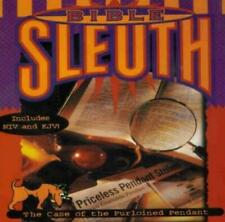 Bible Sleuth Pc Cd learn God's Word by solving mystery caper study verses game!