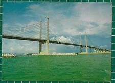 "(CWC) Malaysia 1980s ""The Penang Bridge"" Postcard photo by C.T.Fong #16817"