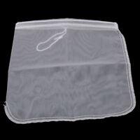 Nylon Tea Coffee Filter Cheese Mesh Cloth Nut Milk Strainer Bag Reusable MP