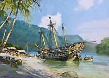 Geoff Hunt Limited Edition Print - Pacific Haven