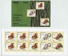 CROATIA 2003 Forest Mammals booklet  MNH / **.  Michel  MH 9