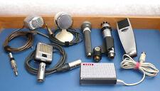 Konvolut bestehend aus 7 alten Mikrofonen  ---      anschauen!
