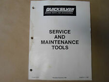 Quicksilver Marine Parts and Accessories 90-86141-2 OEM 88 WATER DAMAGE