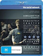 Social Network - Blu-ray, 2011, 2-Disc Set (VGC) Aus Region B