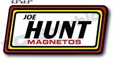 Joe Hunt Magneto Sticker Nostalgia Car Decal