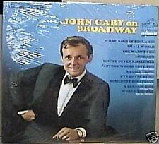 JOHN GARY on BROADWAY Sealed LP RCA Stereo Dynagroove