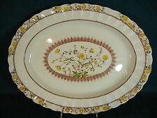 """Copeland Spode Buttercup Old Mark 13"""" Medium Serving Platter"""