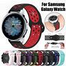 Für Samsung Galaxy Watch 42/46mm Active 2 40/44mm Silikon Ersatz Armband Band