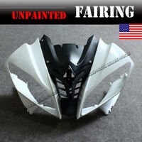 Unpainted Front Upper Cowl Fairing Nose Kit For YAMAHA YZF R6 2008-2016 08 09