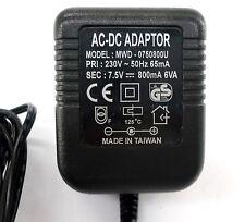 AC Adapter MWD-0750800U Universal Netzteil Adaptor Hohlstecker *mit Rechnung*