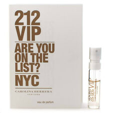 212 VIP by Carolina Herrera 10 PK EDP Sample Vial Women .05oz/1.5ml Mini Perfume