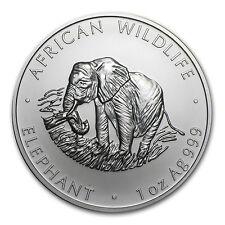 2000 1 oz Silver Zambian Elephant Coin - Brilliant Uncirculated - SKU #85500