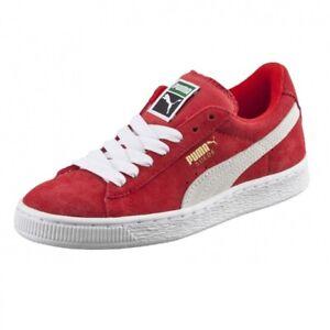 Puma Suede Classic High Risk Red 360757 03 Preschool Kids Suede Shoes