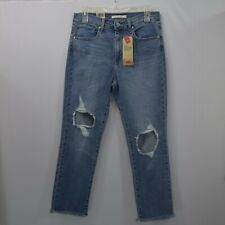 LEVIS SCULPT 724 HIGH RISE STRAIGHT CROPPED  6/28W NEW WITH TAG