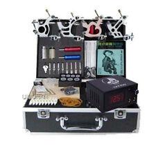 new Starter Tattoo Kits 4 tattoos machine kit all tattooing equipment set
