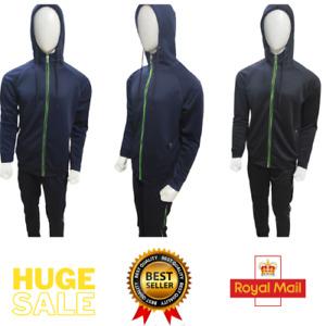 Men's Fleece Tracksuit Set Pullover Hoodie Soft Gym Texture Sweatsuit Activewear