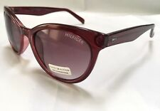 NWT Tommy Hilfiger ANTONIA Authentic Burgundy Brown Sunglasses gift /726/ NEW