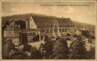 Goslar am Harz Niedersachsen s/w AK ~1920/30 Kaiserhaus mit Blick zum Steinberg