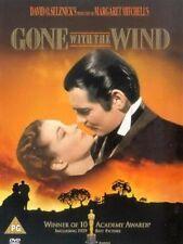 GONE WITH THE WIND CLARK GABLE VIVIEN LEIGH WARNER UK REGION 2 DVD NEW & SEALED