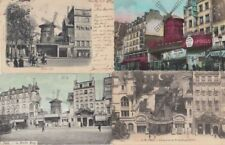 MOULIN ROUGE PARIS France 25 Vintage postcards Mostly Pre-1940