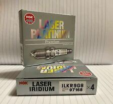 4X doppio Iridium Spark Plugs per FIAT 500 1.2 2007 in poi