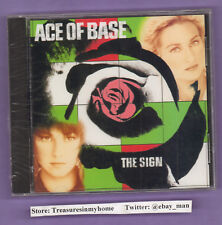 Ace of Base The Sign Music CD US Version 1993 Arista ARCD 8740 New Sealed