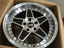 "FYK ED3 17"" 8.5j 10j Alloy Wheels 5x114.3 DRIFT CONCAVE xxr BBS RS JDM"