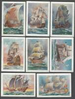 1908 John Player & Sons Wooden Walls Large Tobacco Cards Complete Set of 10