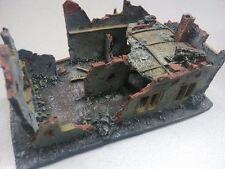 WORLD WAR 2 GUERRA MONDIALE EDIFICIO SCENIC ELEMENT 25-28 mm STORICO RESINA