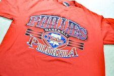 VTG 1994 MLB Philadelphia Phillies Large Graphic Single Stitch T Shirt size XL