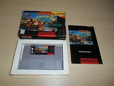 Donkey Kong Country 3 Complete SNES Super Nintendo CIB III Dixie Double Trouble