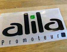 Patch Sponsor ALILA Promoteur Maillot Rugby porté Racing 92 Champion Top 14