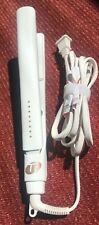 "T3 SinglePass 1"" Hair Straightener & Styling Iron White/Gold Color 73520 2.C6"