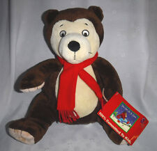 "You Can Do It Sam Kohl's Bear 14""  Plush Soft Toy Stuffed Animal"
