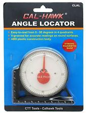 Angle Locator Magnetic Base Gauge 0- 90d Dial Protractor Protracter Angle Finder