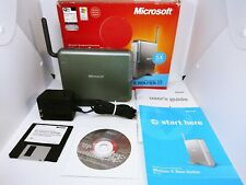 Networking Wireless Wired Router Microsoft Broadband Mn-700 w/Power Cord & disc.
