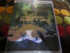 """RARE! BLU-RAY NEUF """"FANDO Y LIS"""" de Alejandro JODOROWSKY"""