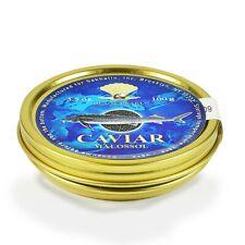 Premium Quality Osetra Kaluga Black CAVIAR Черная Икра US Seller 100g/3.5oz