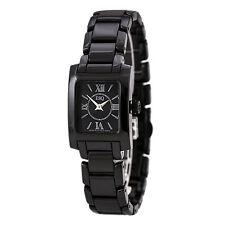 ESQ 7101386 Womens Swiss Ceramic Bracelet Black Dial Watch