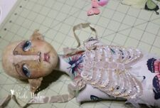 """*NEW* Doll Costume Pattern """"Ribcage Embroidery Template"""" By Paula McGee"""
