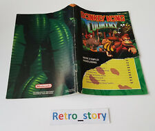 Super Nintendo SNES Donkey Kong Country Notice / Instruction Manual