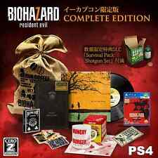 NEW!! PS4 Biohazard 7 Resident Evil e-capcom COMPLETE Edition from Japan Rare