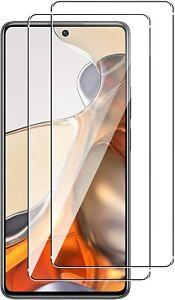 2X Schutzglas Glasfolie für Xiaomi 11T / 11T Pro 5G Display Panzerfolie Full 9H