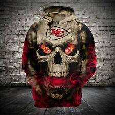 Kansas City Chiefs Hoodie Football Hooded Sweatshirt Sports Jacket Gift for Fans