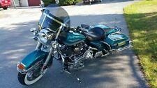 "Harley Davidson Road King windshield dark tinted shorty 14.25"" Lexan polycarb"