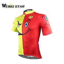 WEIMOSTAR Bike Men's Cycling Short Sleeve Jerseys Tops T-shirts Bicycle Clothing