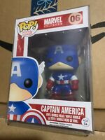 Funko Pop! Captain America 06 Original Marvel Avengers *NEW *Protector